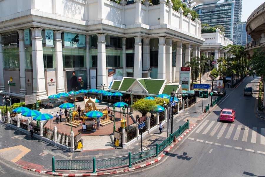 Bangkok Thailand COVID-19 Silent