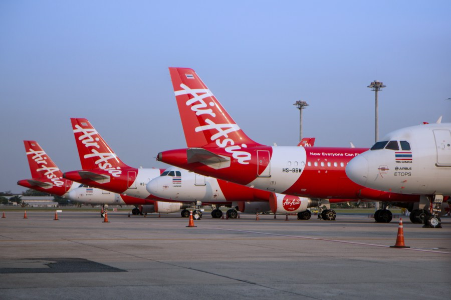 Thai AirAsia Ground After COVID-19