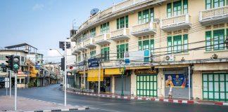 Bangkok COVID-19 Silent City กรุงเทพ