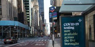 USA New York City COVID-19