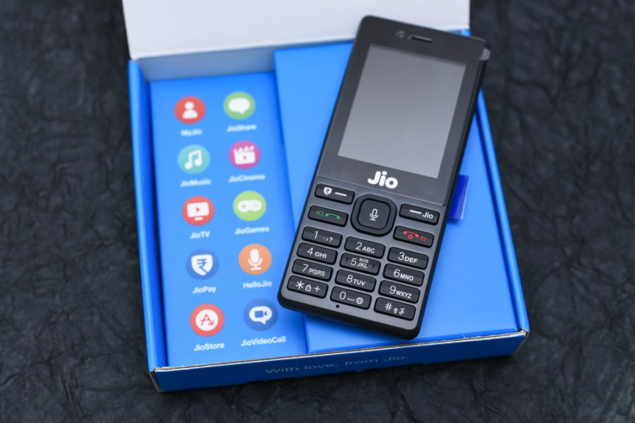 Reliance Jio Mobile Phone India
