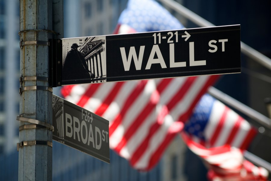 Wall Street United States USA Flag