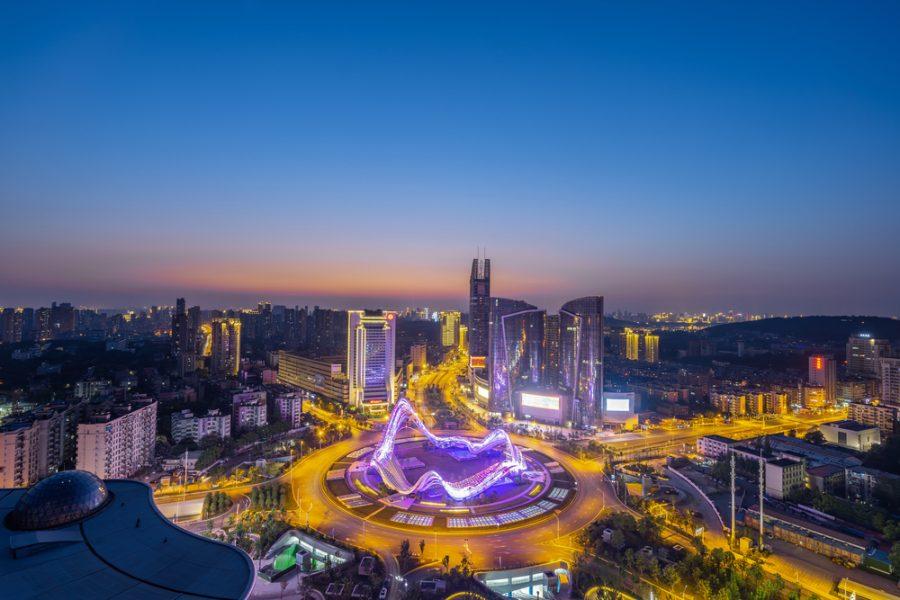 Wuhan China อู่ฮั่น ประเทศจีน