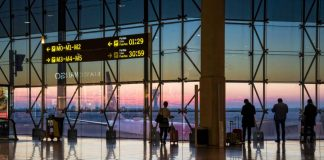 Airport Terminal สนามบิน