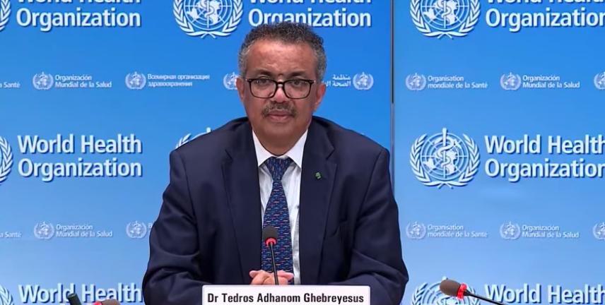 Tedros Adhanom Ghebreyesus, ผู้อำนวยการองค์การอนามัยโลก WHO