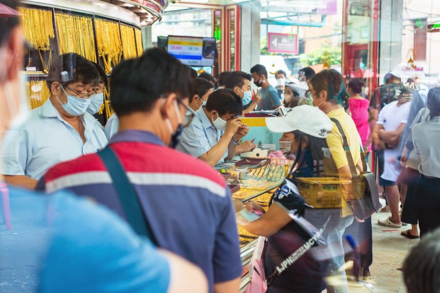 ร้านทอง เยาวราช Yaowarach Gold