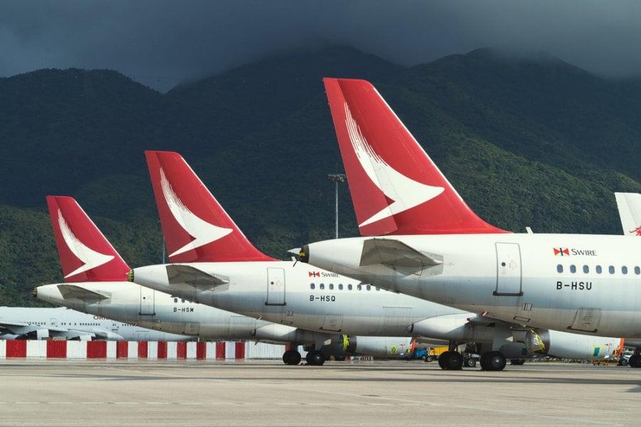 Cathay Dragon Hong Kong สายการบินคาเธ่ย์