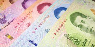 Thai Baht Bank Notes