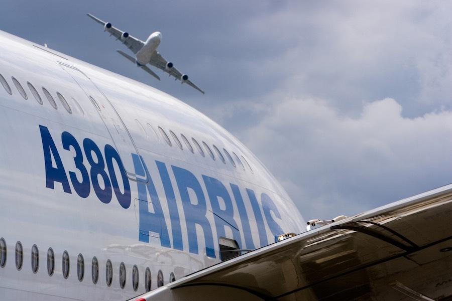 Airbus แอร์บัส A380