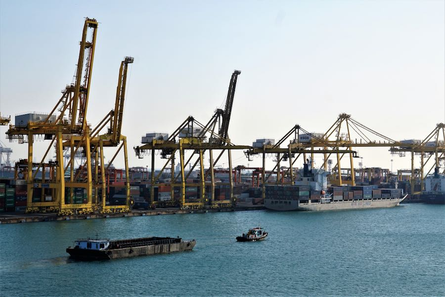 Thailand Laemchabang Port ท่าเรือ แหลมฉบัง