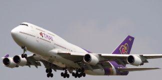 การบินไทย Boeing โบอิ้ง 747