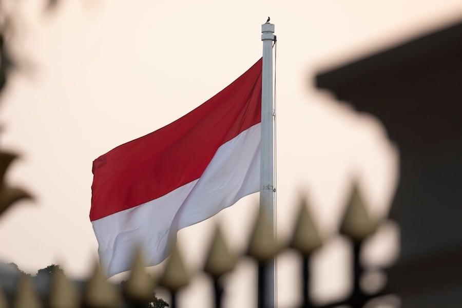 Indonesia Flag อินโดนีเซีย