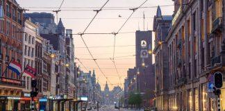 Amsterdam Netherlands เนเธอร์แลนด์ COVID-19