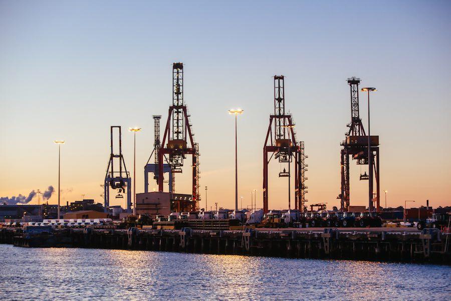 Australia Port ท่าเรือ ออสเตรเลีย