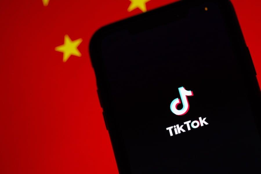 TikTok China Flag ติ๊กต็อก