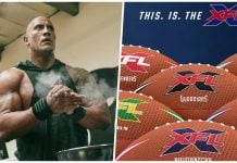the rock xfl