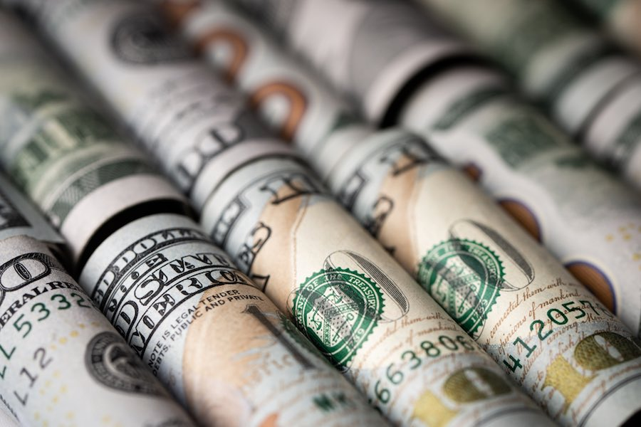 US dollar ดอลลาร์สหรัฐ