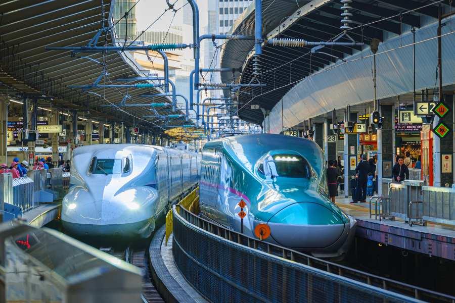 Japan Shinkansen รถไฟความเร็วสูง ญี่ปุ่น
