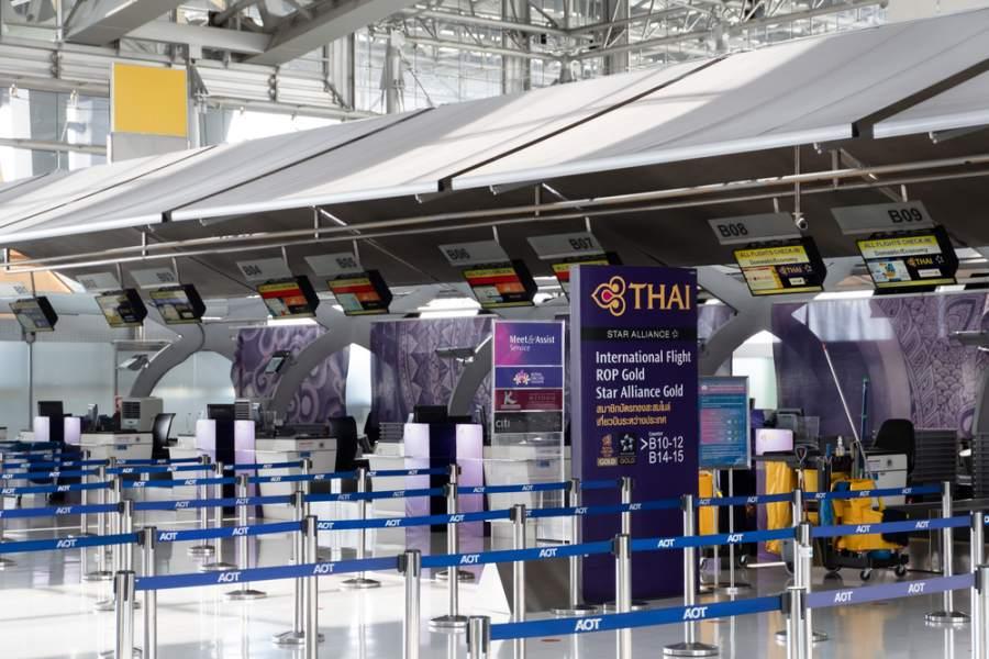 Thai Airways Counter เคาน์เตอร์ การบินไทย
