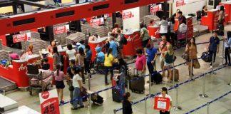AirAsia แอร์เอเชีย เคาน์เตอร์
