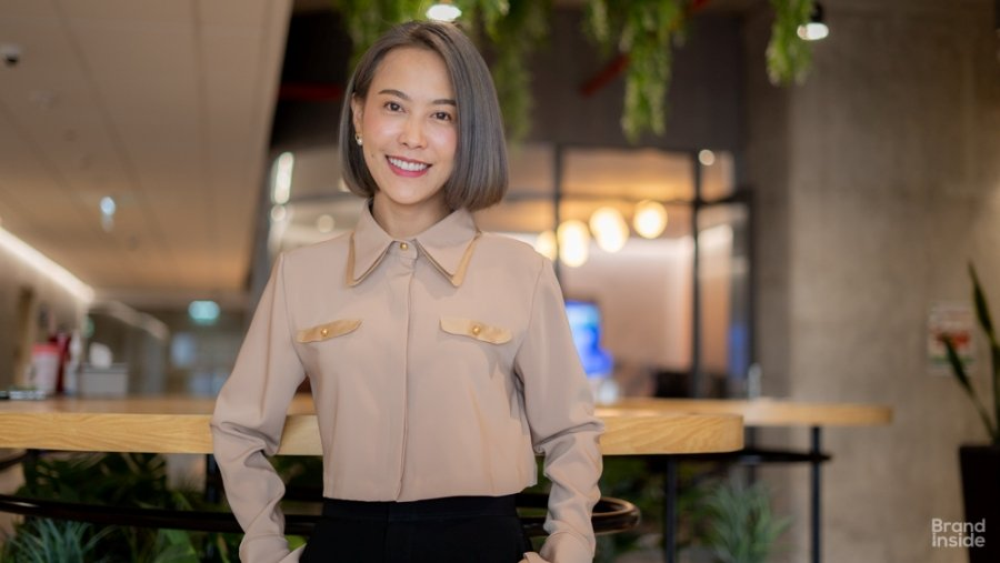 คุณกนกพร ปรัชญาเศรษฐ Country Manager ของ WeTV Thailand ซึ่งสังกัดในบริษัท เทนเซ็นต์ (ประเทศไทย) จำกัด