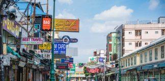 Bangkok Thailand กรุงเทพ COVID-19