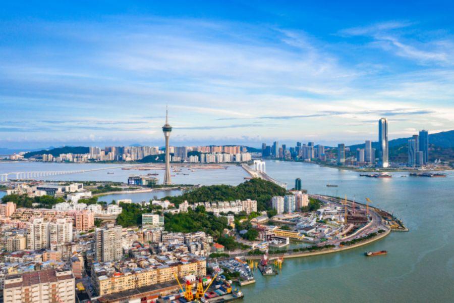 Macau Zhuhai China มาเก๊า ประเทศจีน