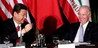 Xi Jinping Joe Biden สี จิ้นผิง โจ ไบเดน