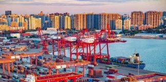 China Port ท่าเรือ ประเทศจีร