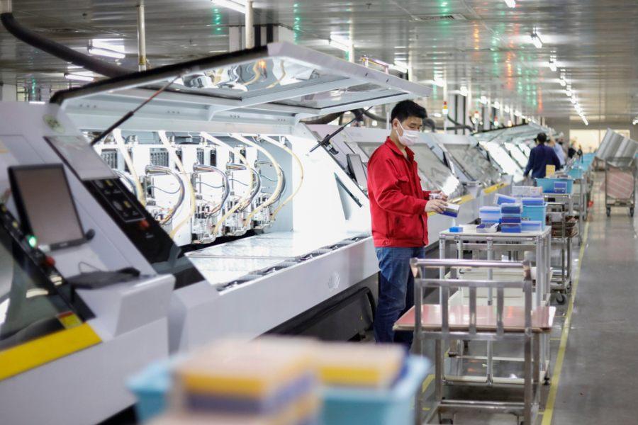 China Manufacturing โรงงาน จีน