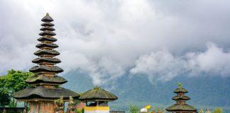 Ulun Danu Bratan Temple in Bali Indonesia