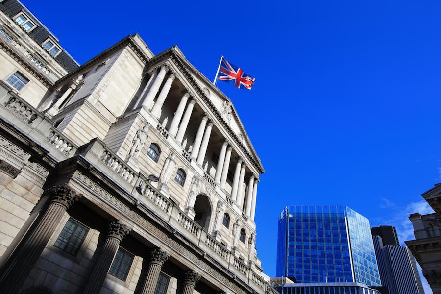 Bank of England ธนาคารกลางอังกฤษ