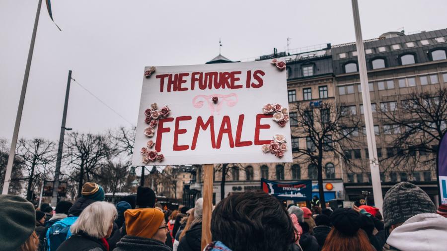 the future is female ประชากร