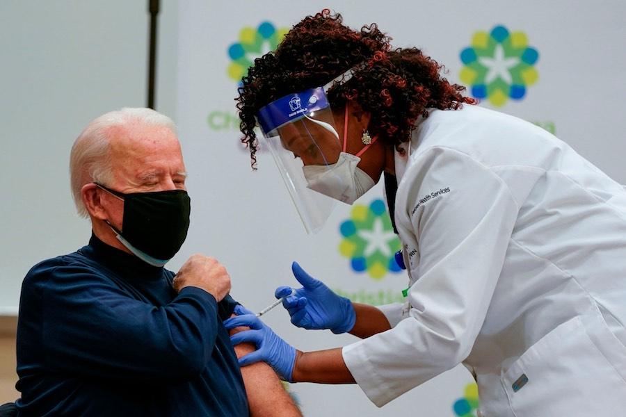 Joe Biden COVID-19 Vaccine โจ ไบเดน
