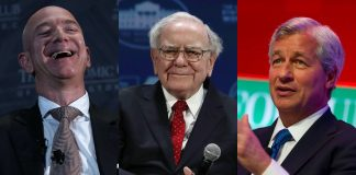 CEO Bezos Buffett Dimon