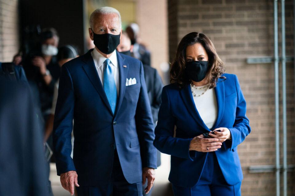 Joe Biden v.s. Kamala Harris