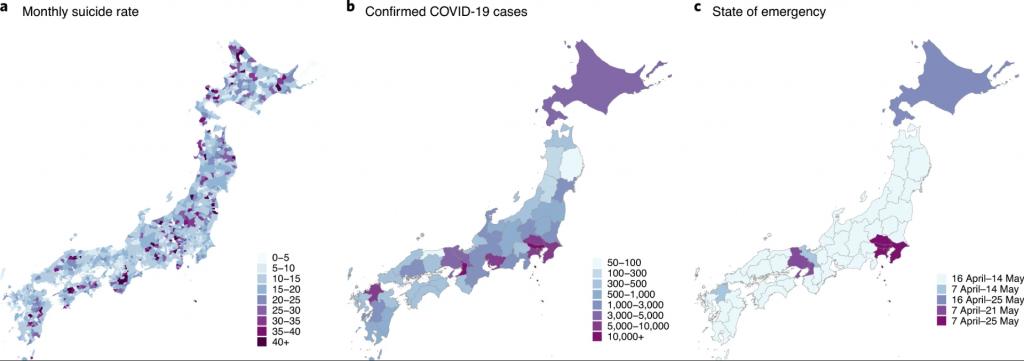 suicide rate in Japan อัตราการฆ่าตัวตายในญี่ปุ่น