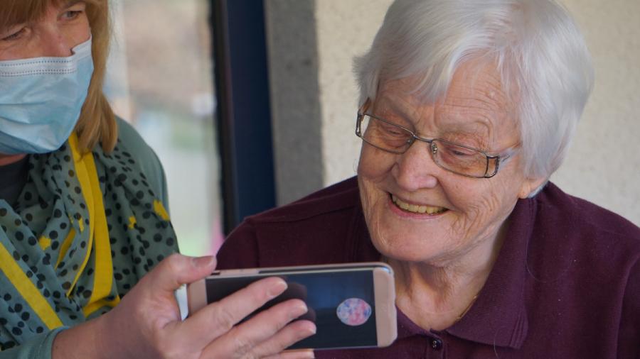 elderly old aging