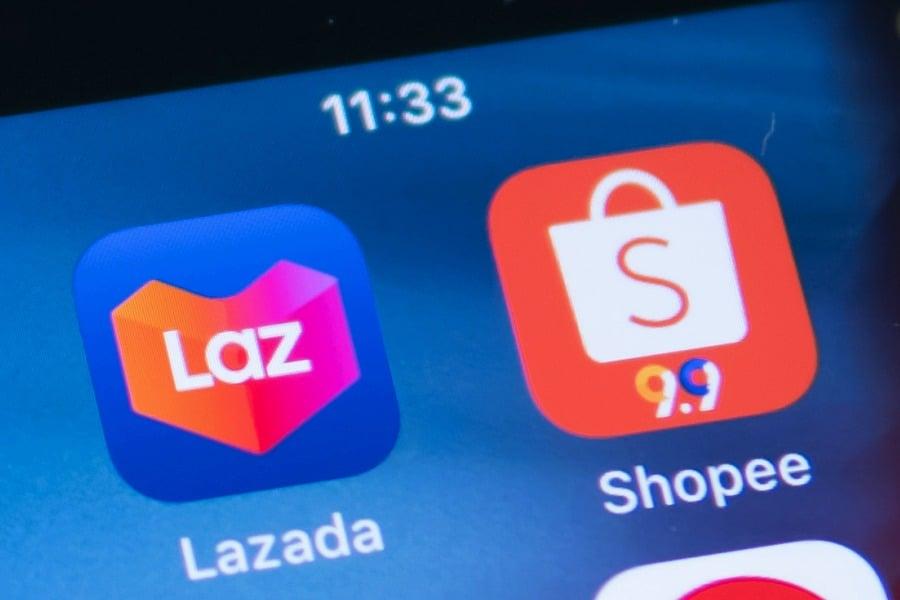 Shopee Lazada ช็อปปี้ ลาซาด้า
