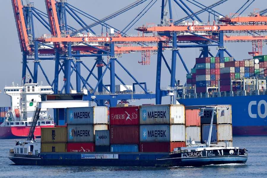 Rotterdam Port Container คอนเทนเนอร์