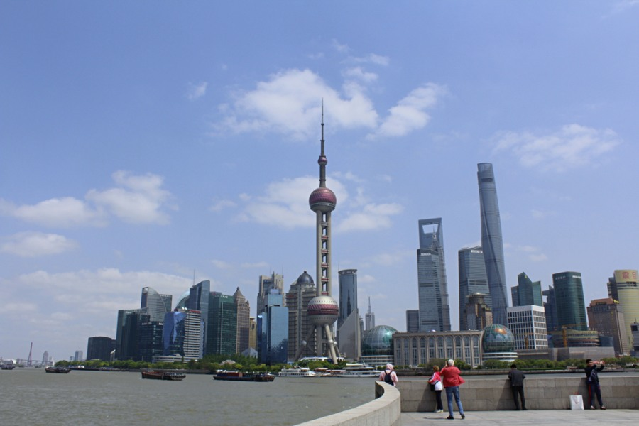 Shanghai The bund China เซี่ยงไฮ้ ประเทศจีน