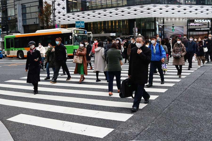 Ginza Tokyo Japan กินซ่า โตเกียว ประเทศญี่ปุ่น