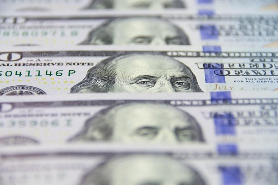 US dollar เงินดอลลาร์สหรัฐ