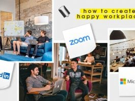 how to create happy workplace