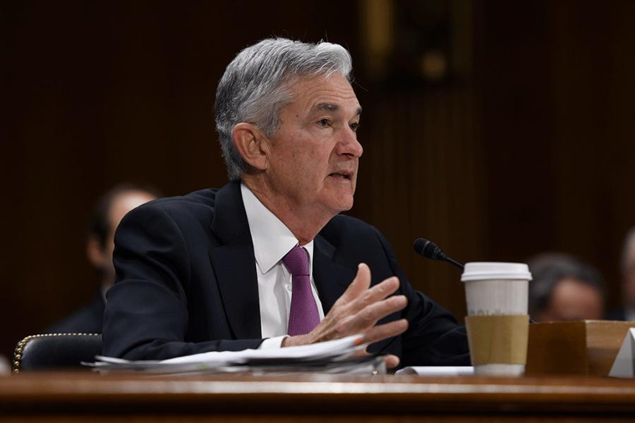 Jerome Powell ประธานธนาคารกลางสหรัฐฯ
