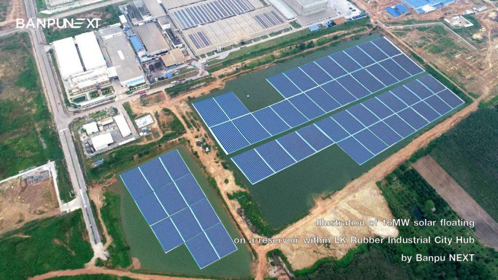 Banpu NEXT floating solar