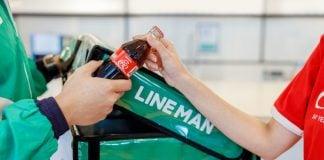 line man wongnai coca-cola