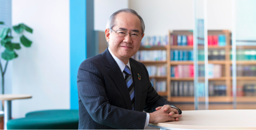 Yoshinori Isozaki CEO Kirin