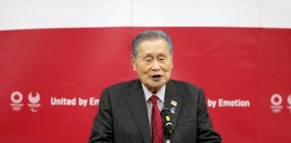 Yoshiro Mori Olympic Tokyo 2020