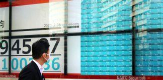Tokyo Japan Nikkei 225 ดัชนีนิเคอิ